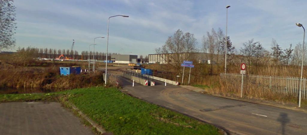 lokatie huidige brug